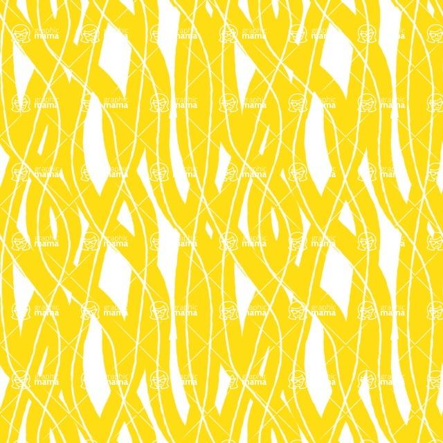 Seamless Pattern Designs Mega Bundle - Hand-drawn Pattern 61