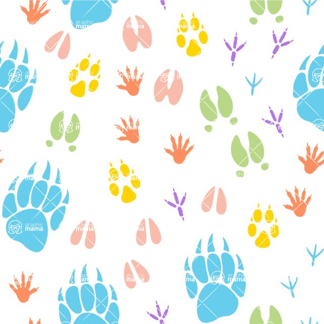 Seamless Pattern Designs Mega Bundle - Animal Pattern 88
