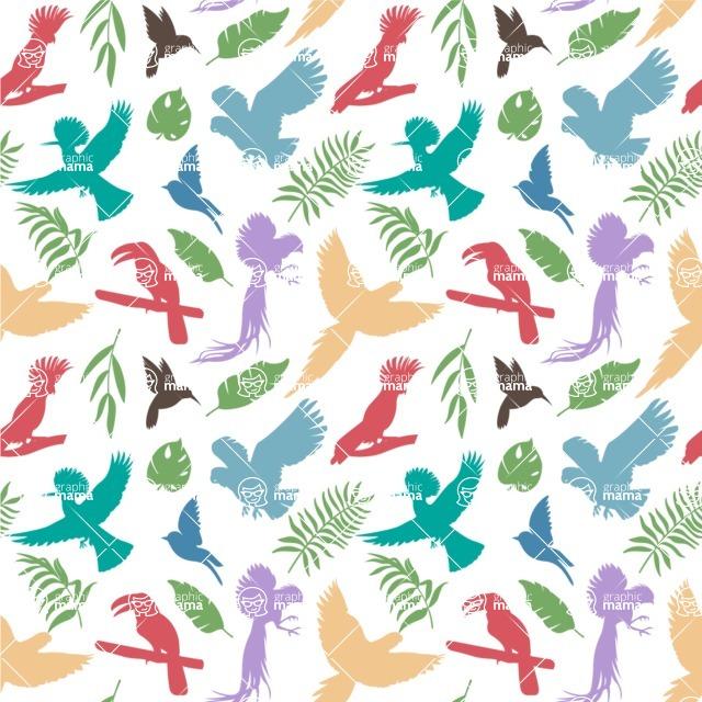 Seamless Pattern Designs Mega Bundle - Animal Pattern 89