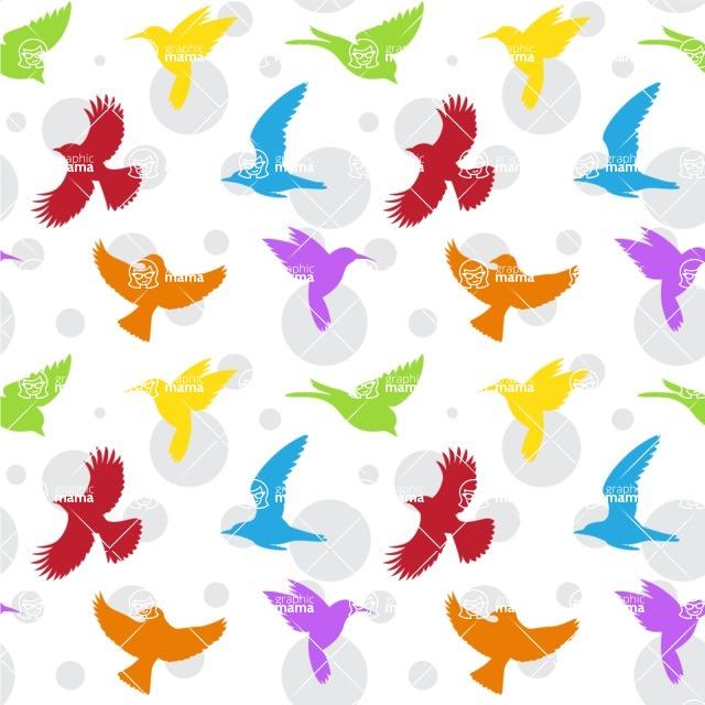 Seamless Pattern Designs Mega Bundle - Animal Pattern 92