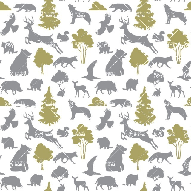 Seamless Pattern Designs Mega Bundle - Animal Pattern 93