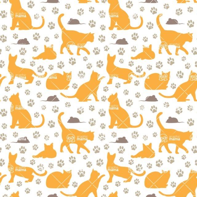 Seamless Pattern Designs Mega Bundle - Animal Pattern 96