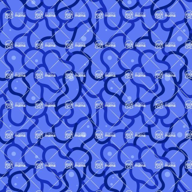 Seamless Pattern Designs Mega Bundle - Hand-drawn Pattern 64