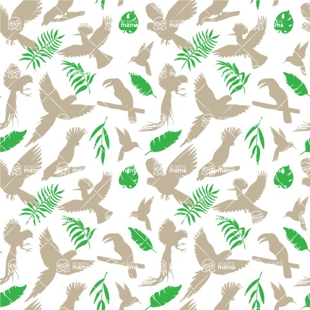 Seamless Pattern Designs Mega Bundle - Animal Pattern 129
