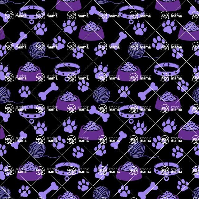 Seamless Pattern Designs Mega Bundle - Animal Pattern 131