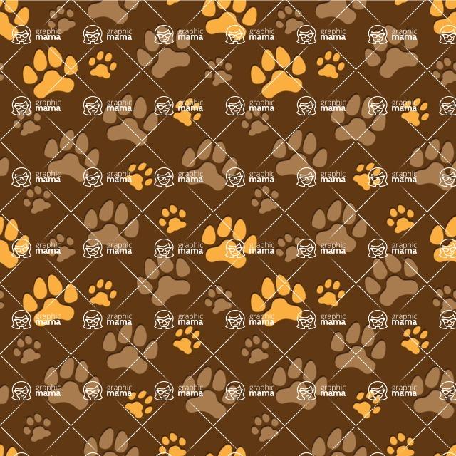 Seamless Pattern Designs Mega Bundle - Animal Pattern 135