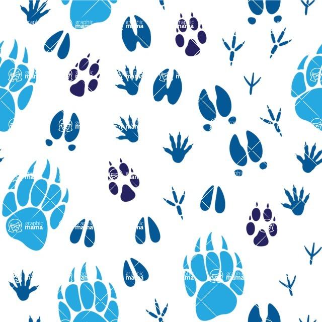 Seamless Pattern Designs Mega Bundle - Animal Pattern 136