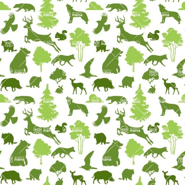 Seamless Pattern Designs Mega Bundle - Animal Pattern 141