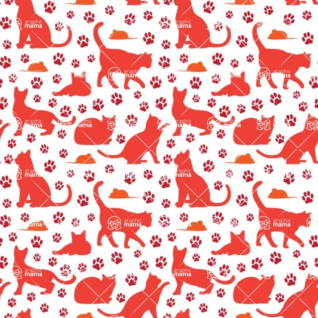 Seamless Pattern Designs Mega Bundle - Animal Pattern 144