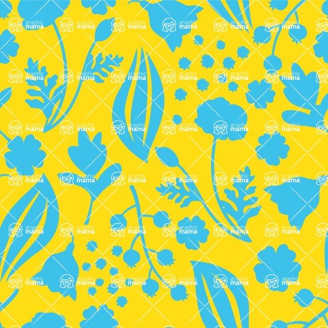 Seamless Pattern Designs Mega Bundle - Flower Pattern 20