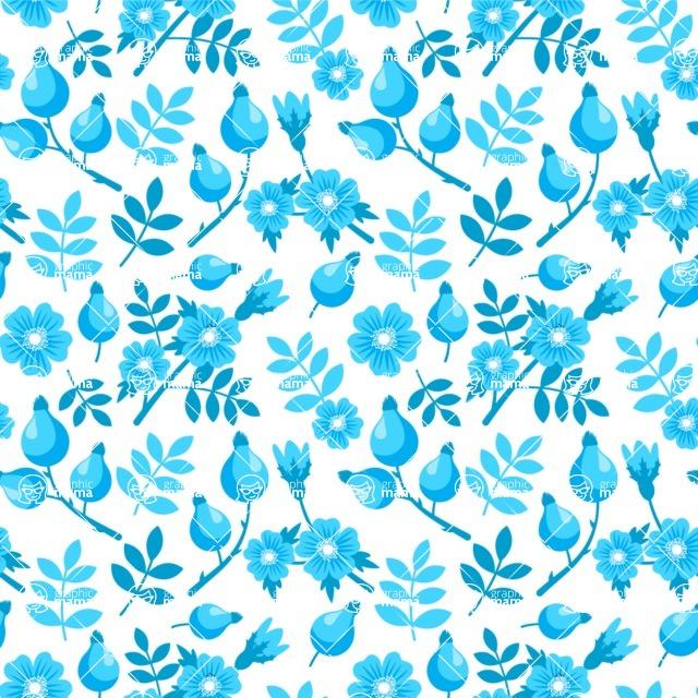 Seamless Pattern Designs Mega Bundle - Flower Pattern 31