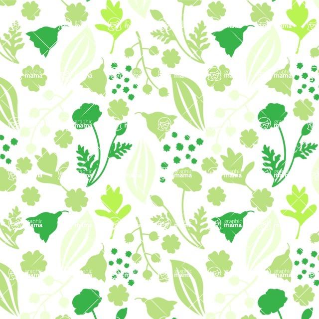 Seamless Pattern Designs Mega Bundle - Flower Pattern 32