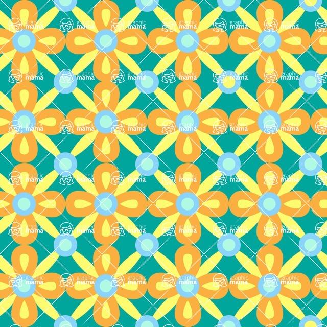 Seamless Pattern Designs Mega Bundle - Decorative Pattern 5
