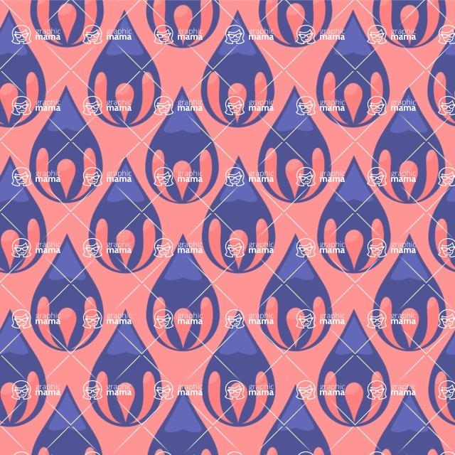 Seamless Pattern Designs Mega Bundle - Decorative Pattern 7