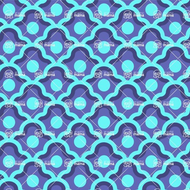 Seamless Pattern Designs Mega Bundle - Decorative Pattern 9