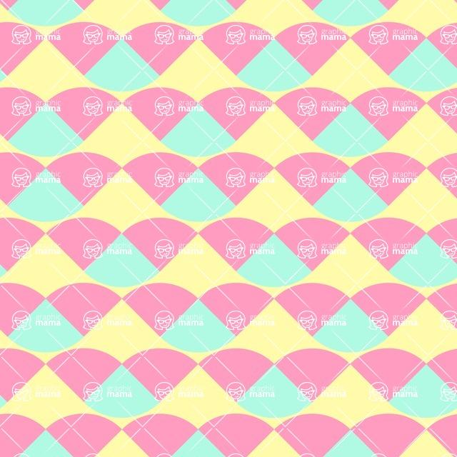 Seamless Pattern Designs Mega Bundle - Decorative Pattern 13