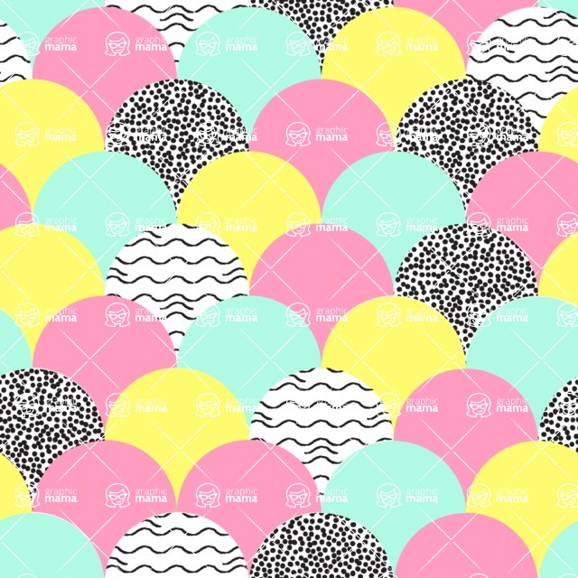 Seamless Pattern Designs Mega Bundle - Decorative Pattern 15