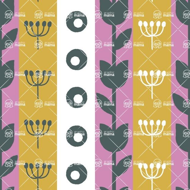 Seamless Pattern Designs Mega Bundle - Decorative Pattern 21