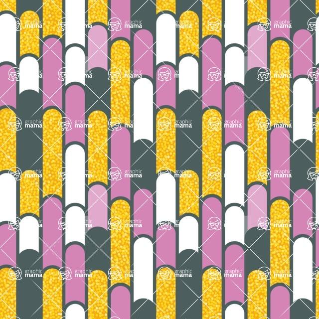 Seamless Pattern Designs Mega Bundle - Decorative Pattern 24