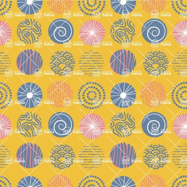Seamless Pattern Designs Mega Bundle - Decorative Pattern 32
