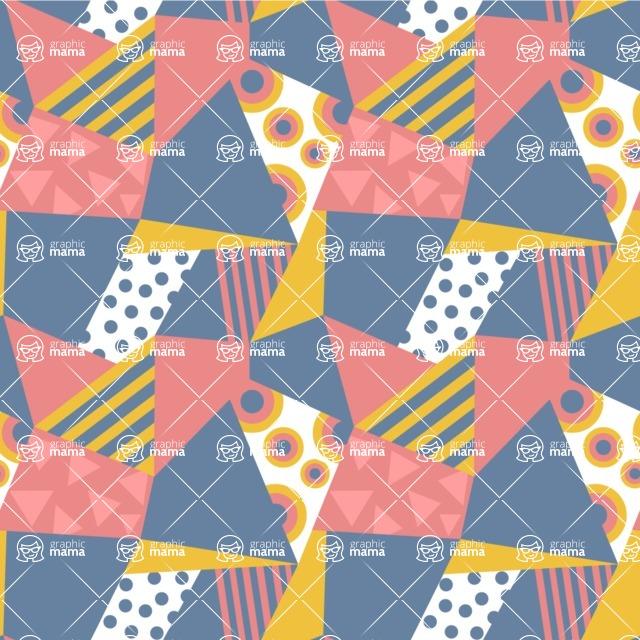 Seamless Pattern Designs Mega Bundle - Decorative Pattern 33