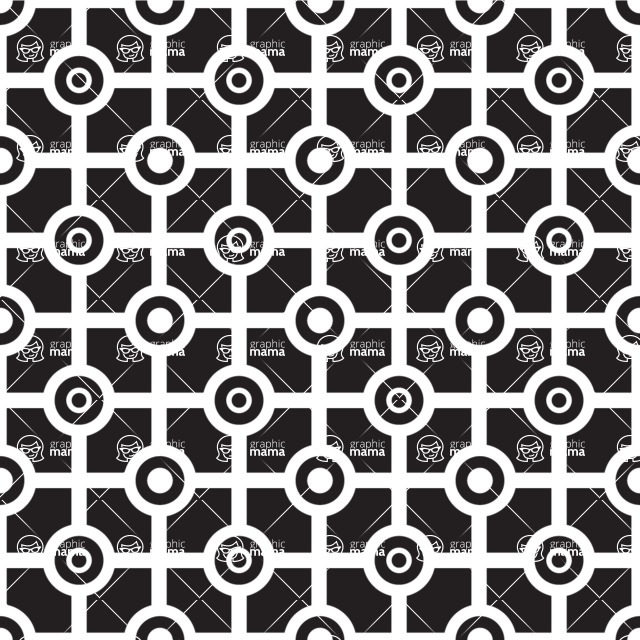 Seamless Pattern Designs Mega Bundle - Geometric Pattern 3