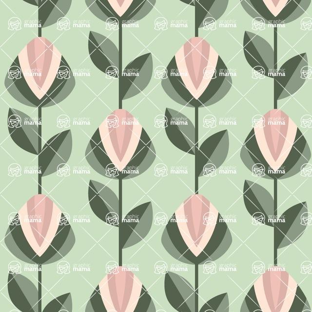 Seamless Pattern Designs Mega Bundle - Decorative Pattern 48