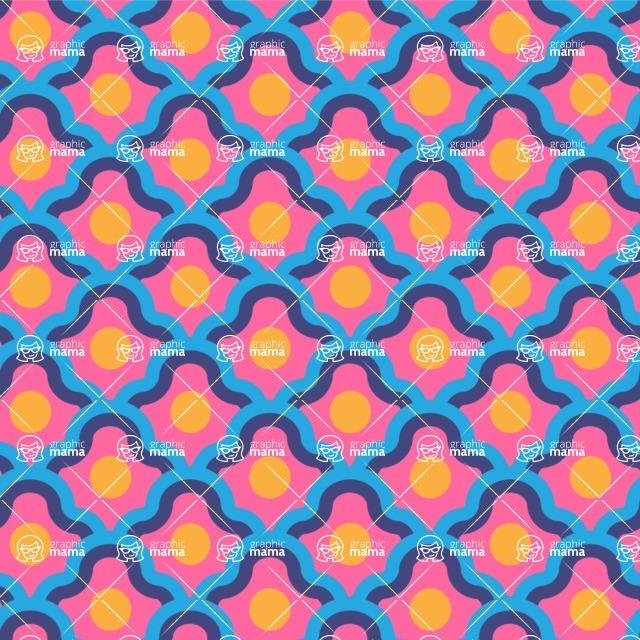 Seamless Pattern Designs Mega Bundle - Decorative Pattern 63