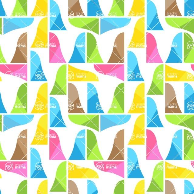Seamless Pattern Designs Mega Bundle - Decorative Pattern 103