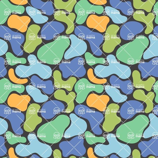 Seamless Pattern Designs Mega Bundle - Decorative Pattern 105