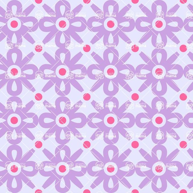 Seamless Pattern Designs Mega Bundle - Decorative Pattern 113