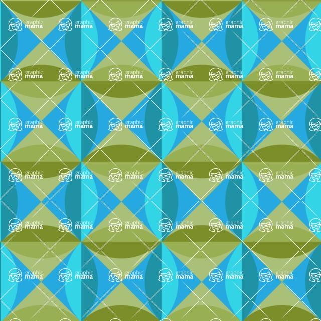 Seamless Pattern Designs Mega Bundle - Decorative Pattern 114