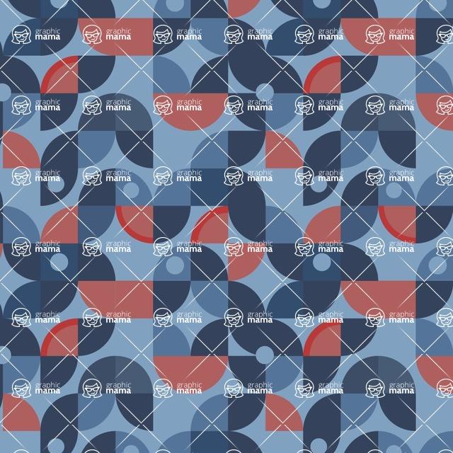Seamless Pattern Designs Mega Bundle - Decorative Pattern 119
