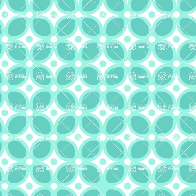Seamless Pattern Designs Mega Bundle - Decorative Pattern 122