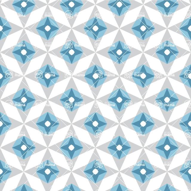 Seamless Pattern Designs Mega Bundle - Decorative Pattern 134