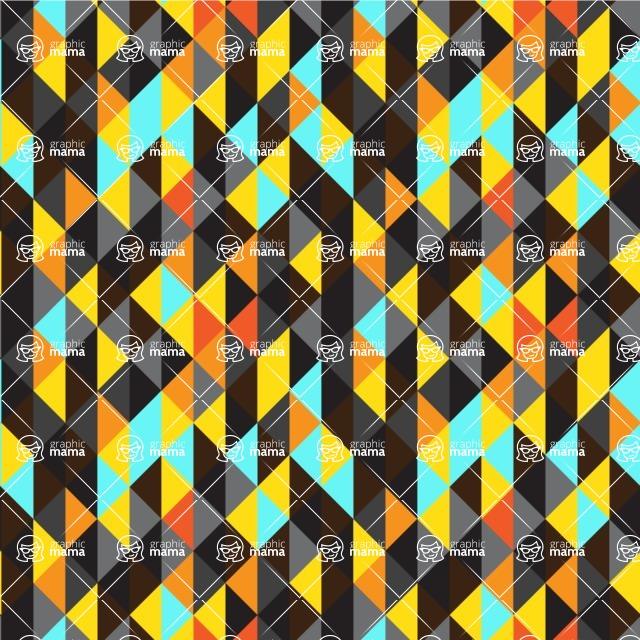 Seamless Pattern Designs Mega Bundle - Decorative Pattern 136