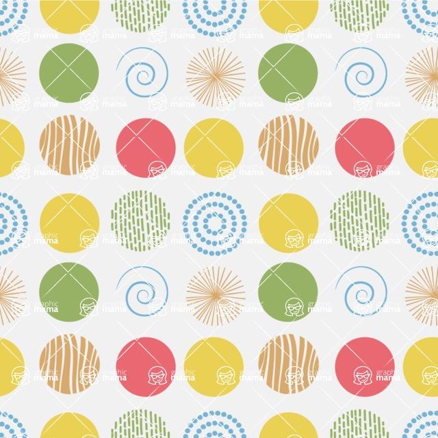 Seamless Pattern Designs Mega Bundle - Decorative Pattern 140