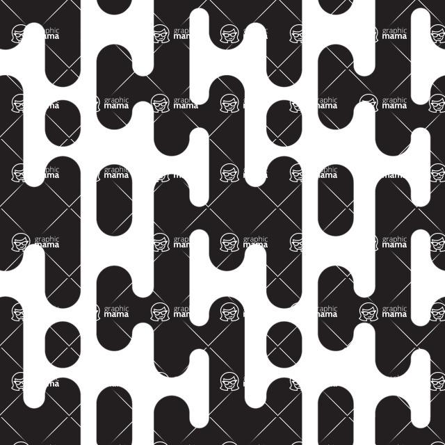 Seamless Pattern Designs Mega Bundle - Geometric Pattern 13