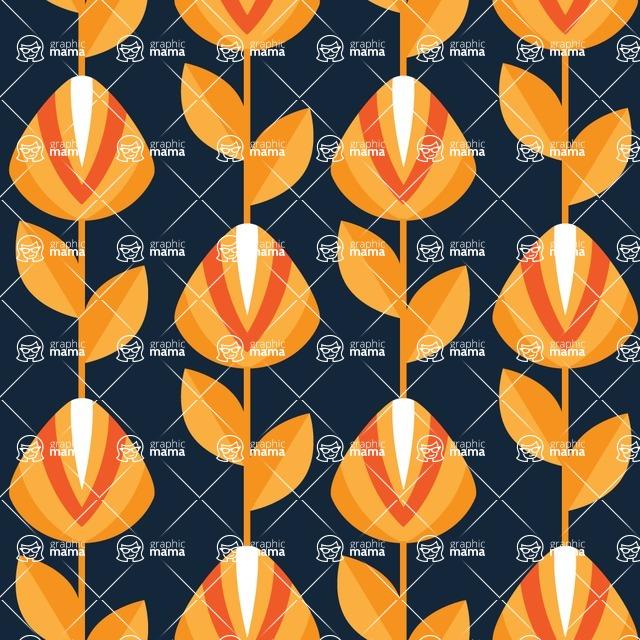 Seamless Pattern Designs Mega Bundle - Decorative Pattern 156