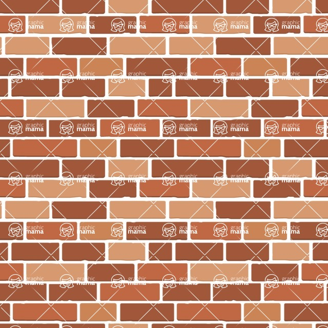 Seamless Pattern Designs Mega Bundle - Brick Pattern 1