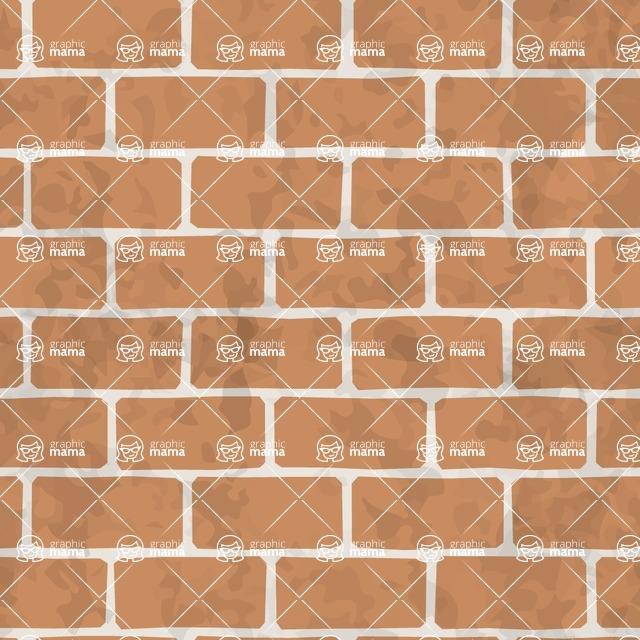 Seamless Pattern Designs Mega Bundle - Brick Pattern 4