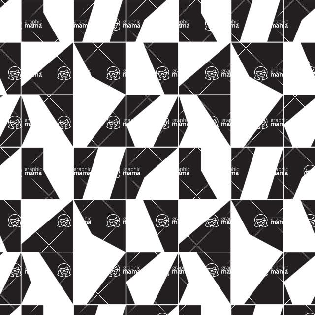Seamless Pattern Designs Mega Bundle - Geometric Pattern 15