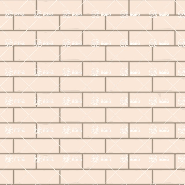 Seamless Pattern Designs Mega Bundle - Brick Pattern 7