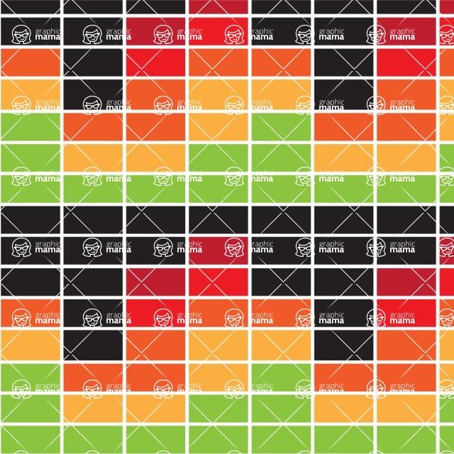 Seamless Pattern Designs Mega Bundle - Brick Pattern 22
