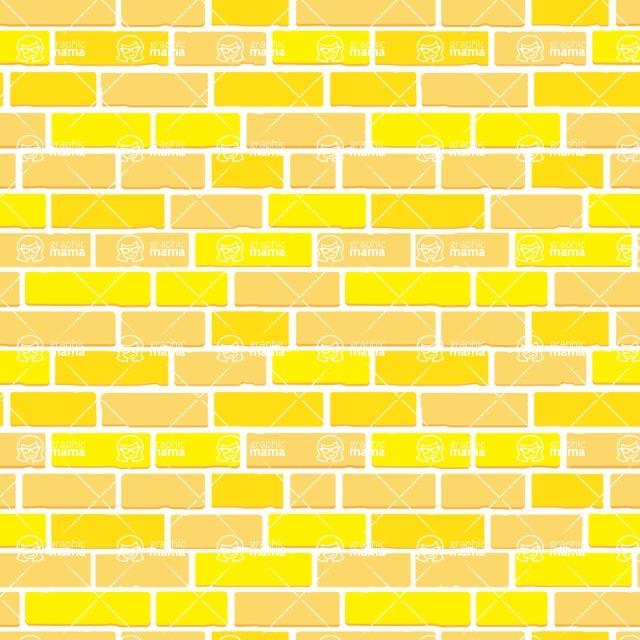 Seamless Pattern Designs Mega Bundle - Brick Pattern 25