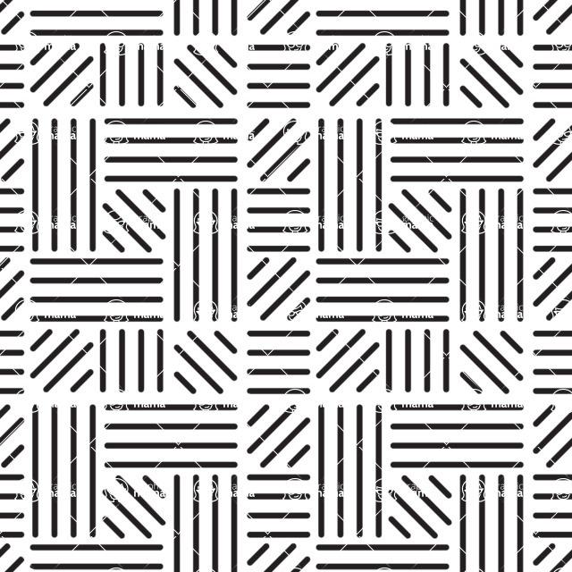 Seamless Pattern Designs Mega Bundle - Geometric Pattern 17
