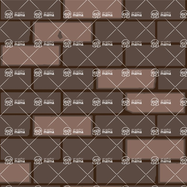 Seamless Pattern Designs Mega Bundle - Brick Pattern 32