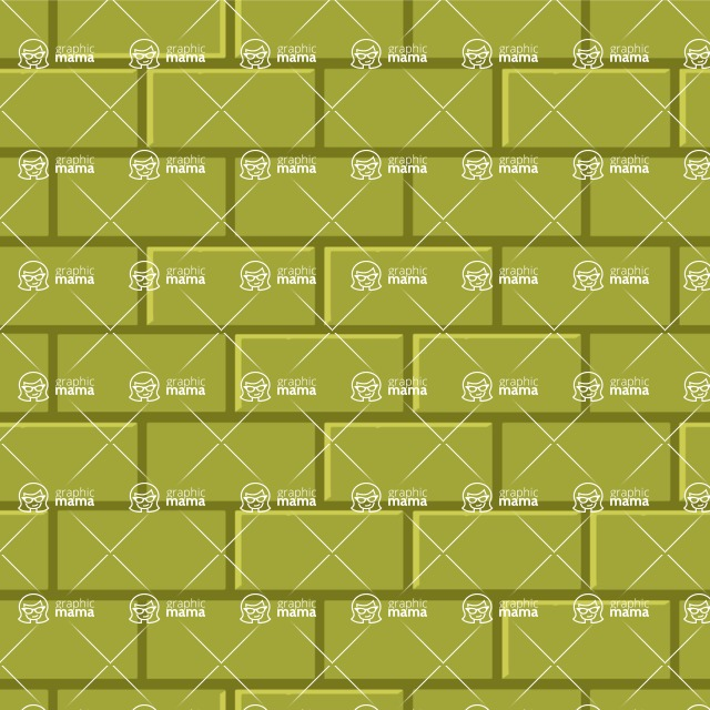 Seamless Pattern Designs Mega Bundle - Brick Pattern 33