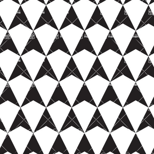Seamless Pattern Designs Mega Bundle - Geometric Pattern 18