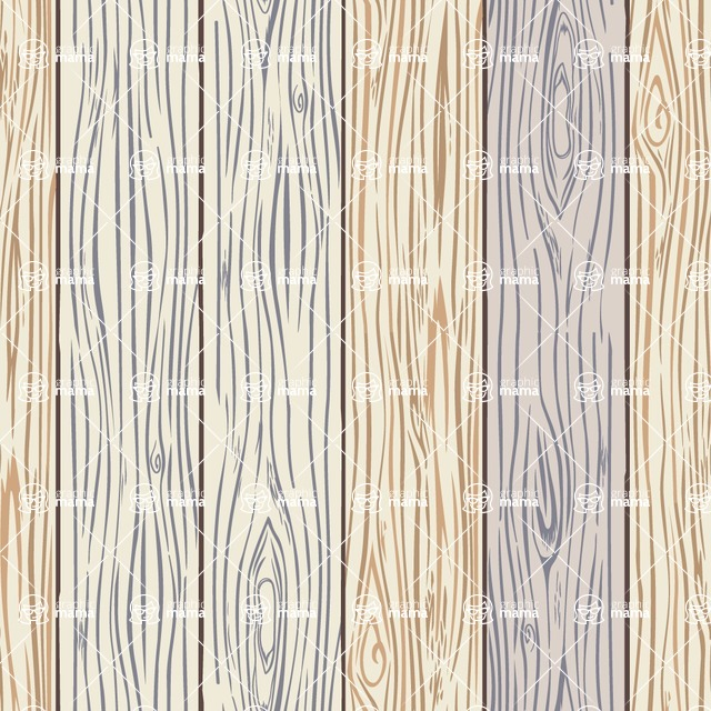 Seamless Pattern Designs Mega Bundle - Wood Pattern 4
